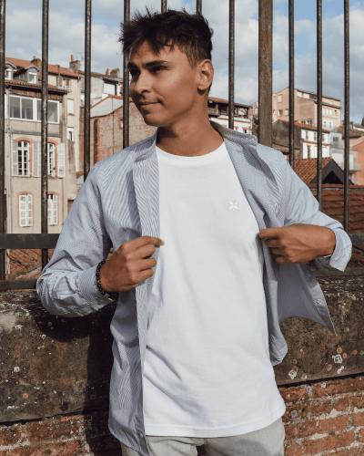 Tissu épais t-shirt Maison Carrillo